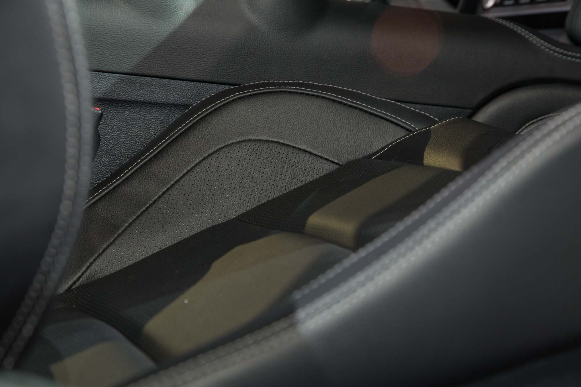 2018 ford mustang gt interior leather seats