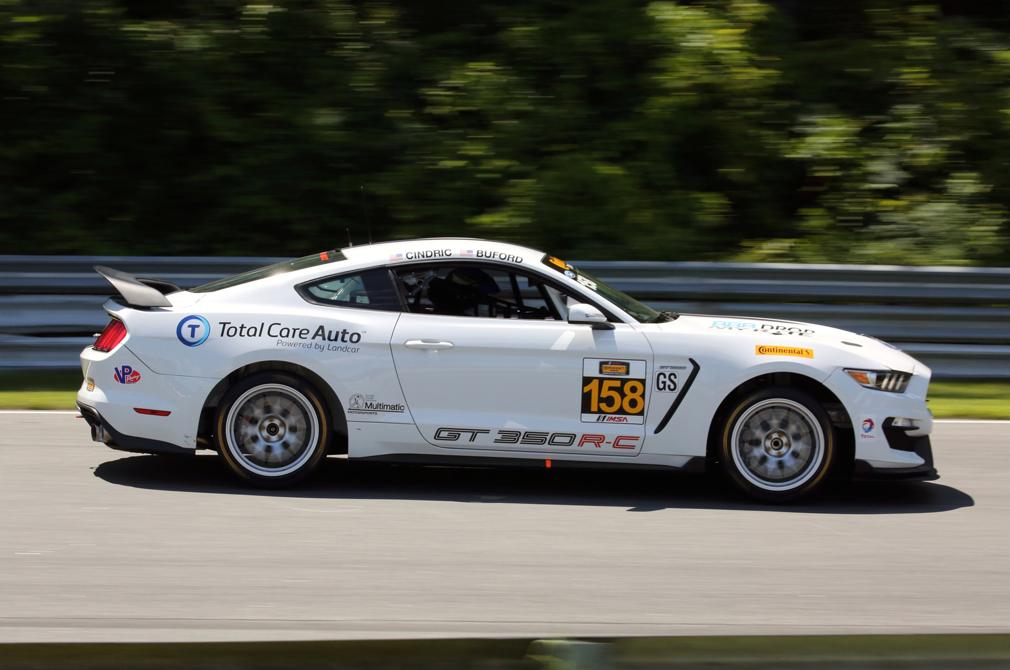 Shelby Gt350r C Takes Second Win At Lime Rock 11