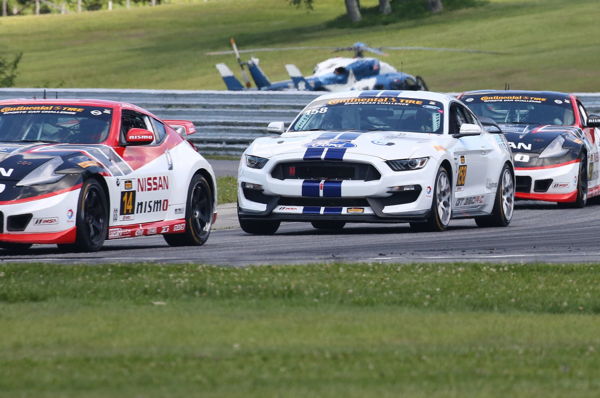 Shelby Gt350r C Takes Second Win At Lime Rock 04