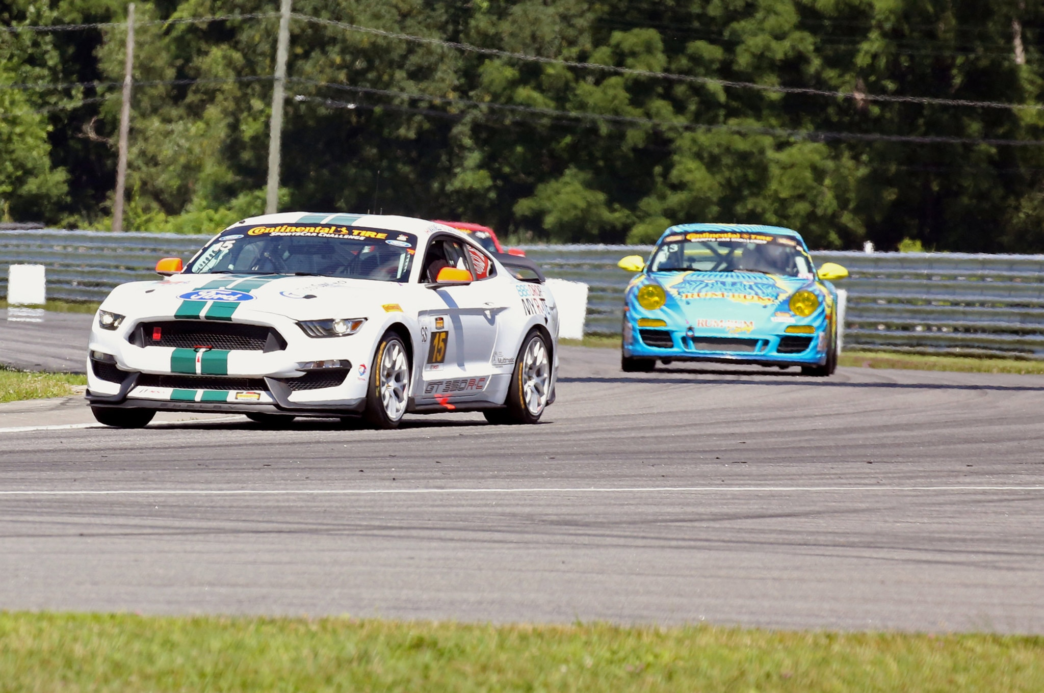 Shelby Gt350r C Takes Second Win At Lime Rock 01