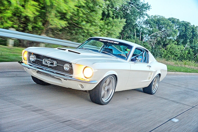 1969 Ford Mustang Fastback Driving