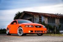 2004 Ford Mustang Svt Cobra Orange Front Quarter 002