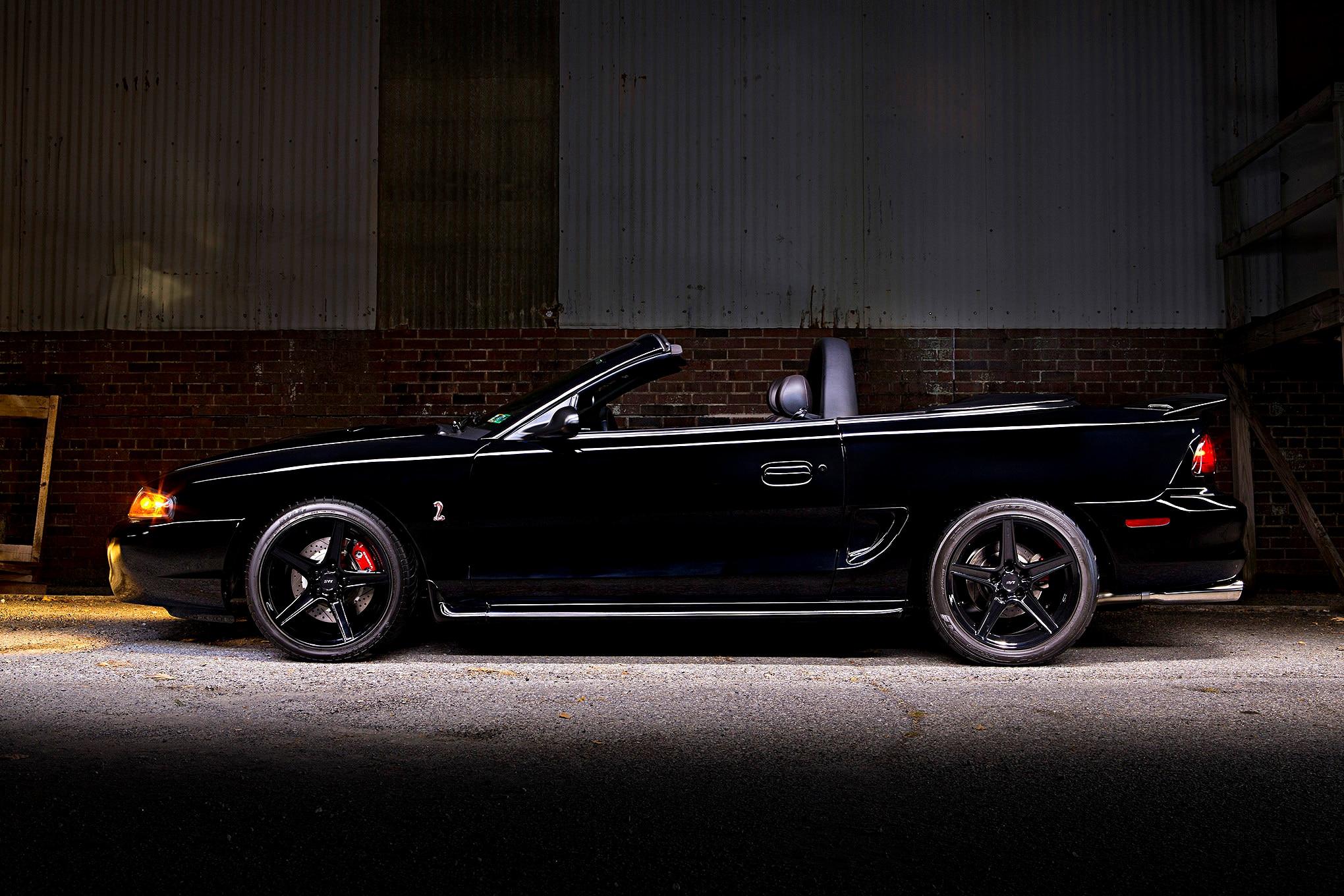 1998 Ford Mustang Cobra Side