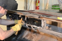 1965 Ford Mustang Welding