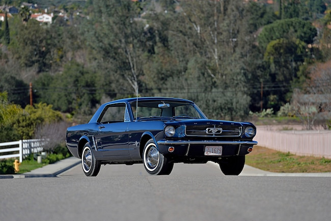 Fria 1965 Ford Mustang Front Three Quarter