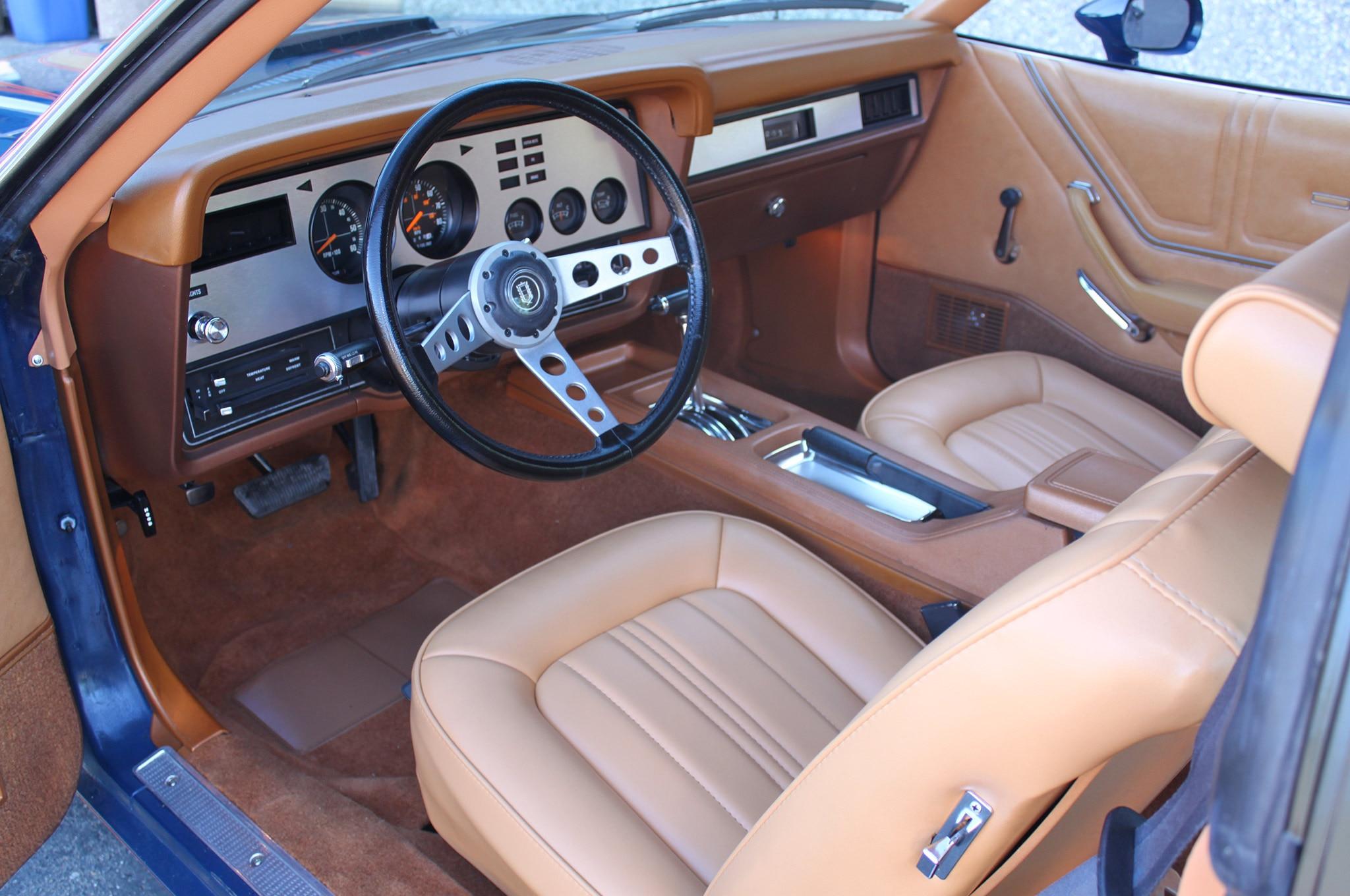 Bobby Aldrich 1978 Mustang II Interior