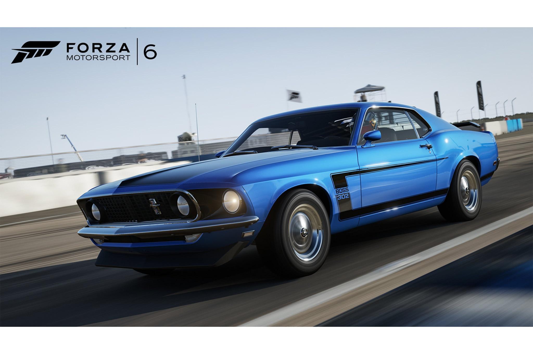 Forza motorsport 6 ford 1969 mustang boss 302