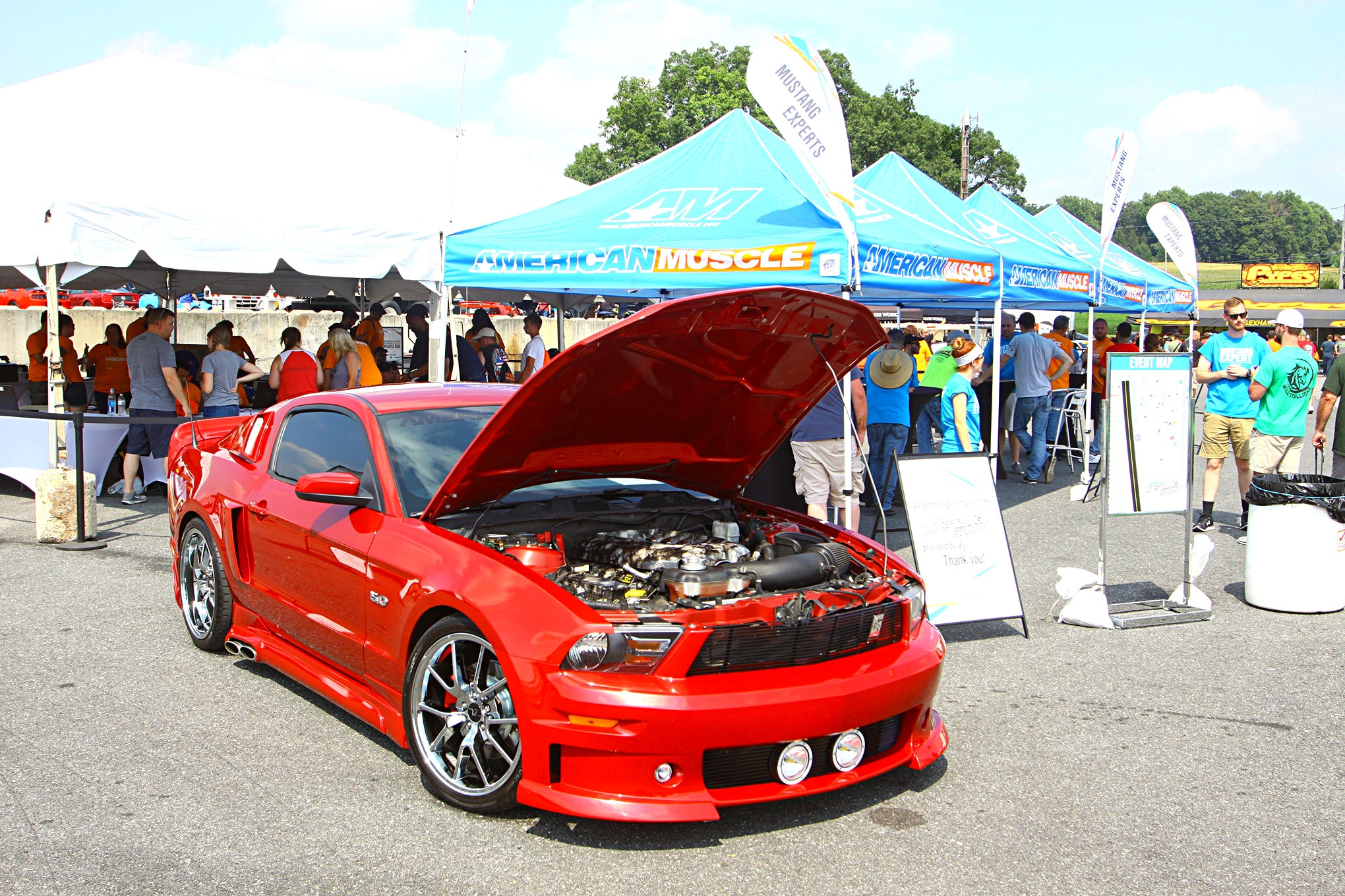 2017 AmericanMuscle Show Full Coverage 001