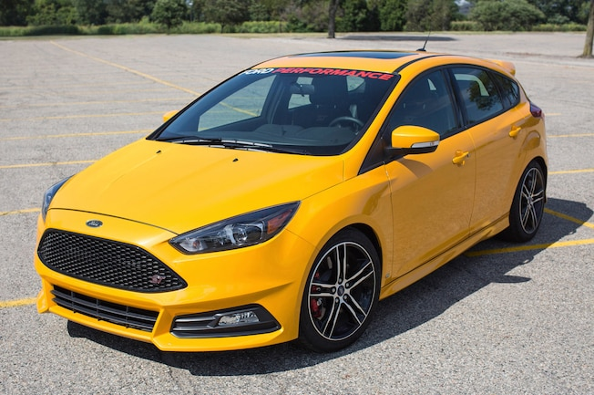 01 2015 Ford Focus ST