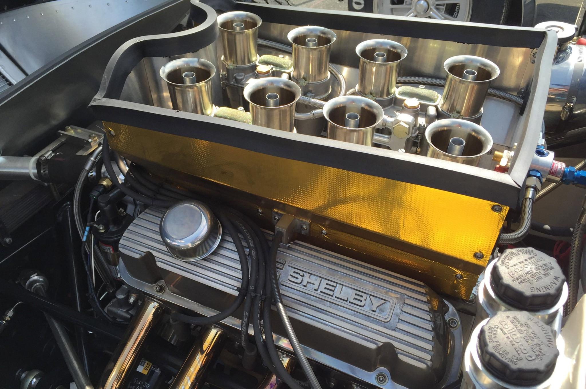 50th Anniversary Polished Shelby Daytona Coupe Engine