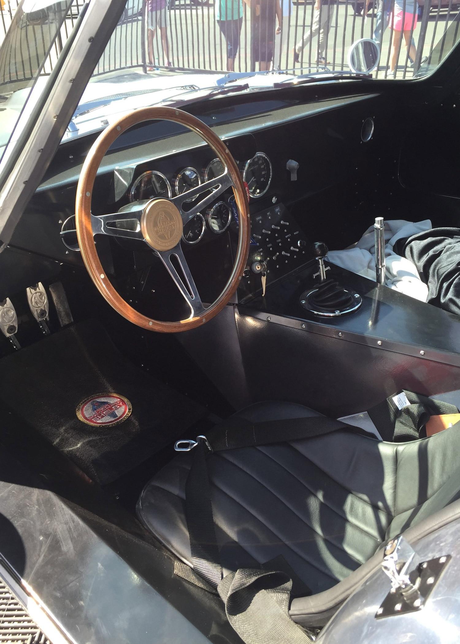 50th Anniversary Polished Shelby Daytona Coupe Interior
