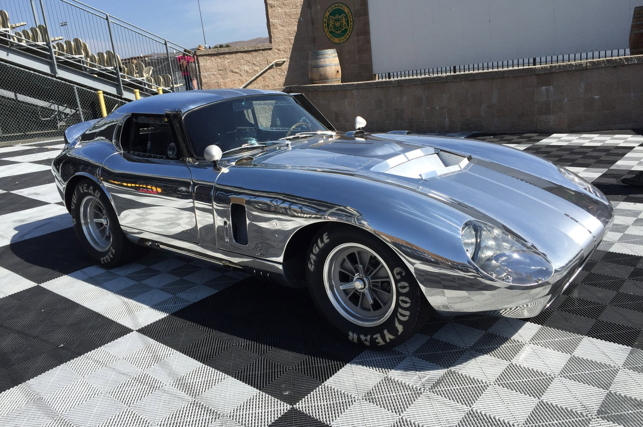 50th Anniversary Polished Shelby Daytona Coupe