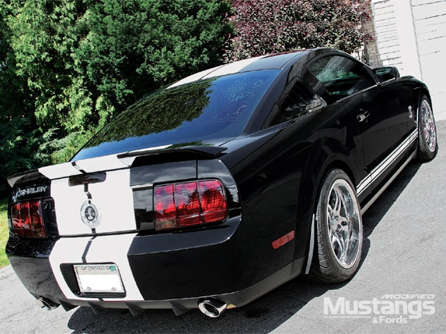 Shelby Cobra Mustang Exhaust System Upgrade Front View