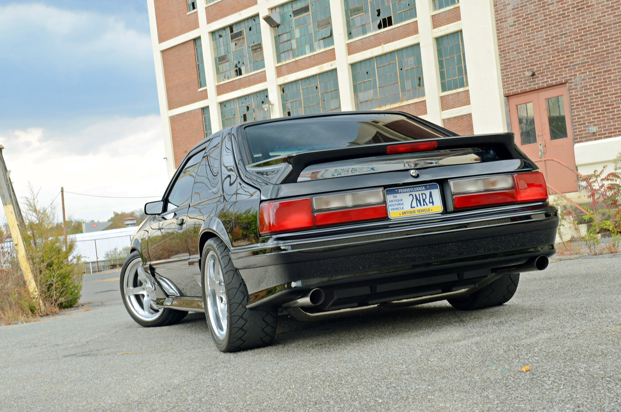 1988 Ford Mustang Gt Hartrick 88 Lowrear