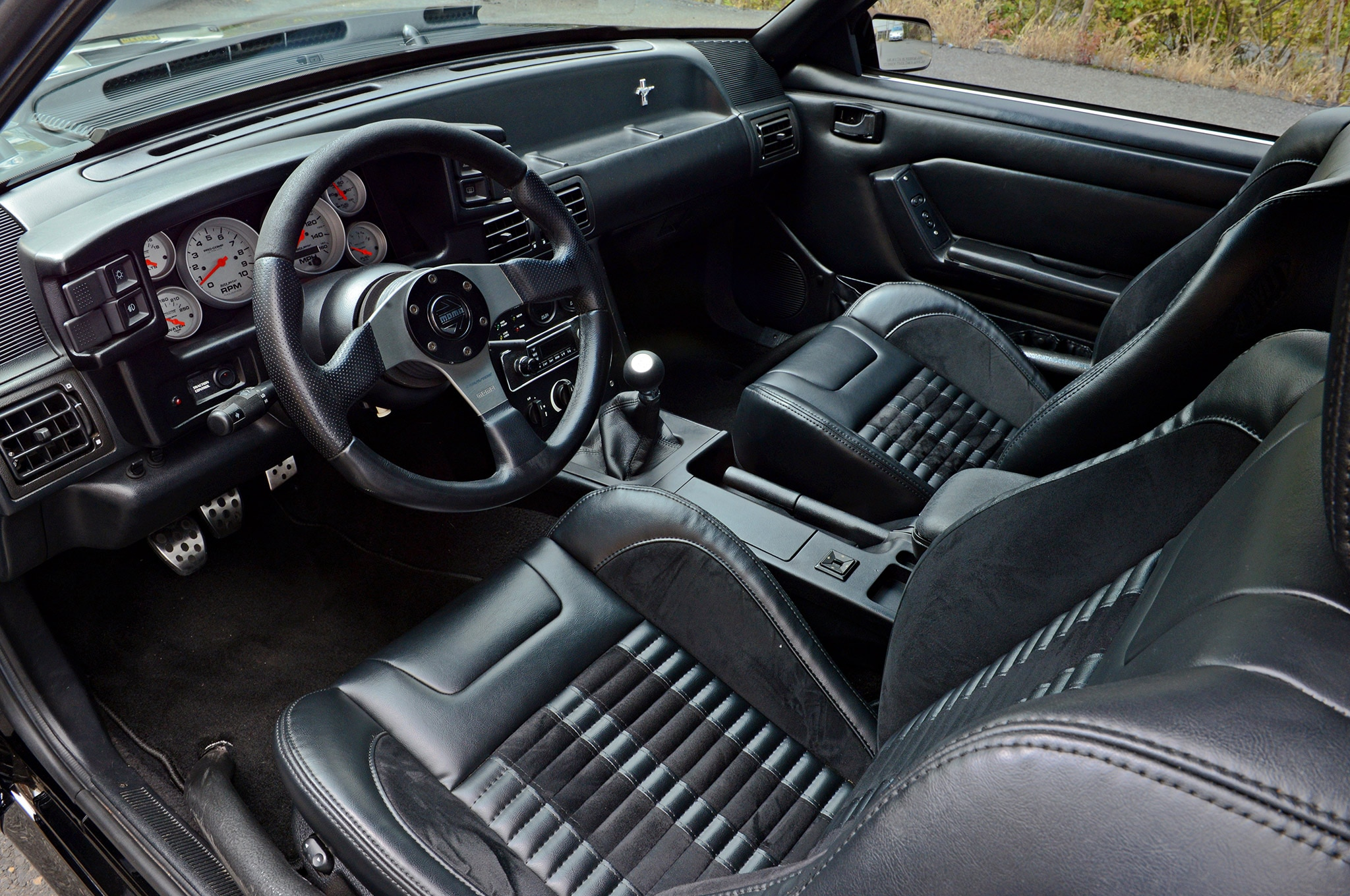 1988 Ford Mustang Gt Hartrick 88 Interior