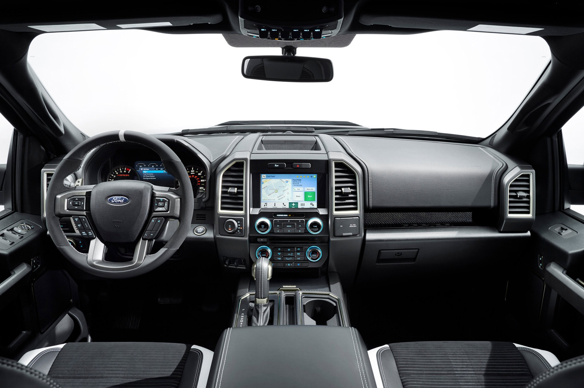 2017 Ford F 150 Raptor Dashboard