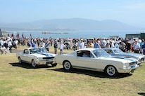 2015 Pebble Beach Concours Ford Mustangs Rahal
