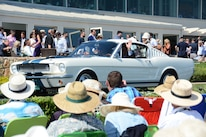 2015 Pebble Beach Concours Ford Mustangs Bobby Rahal