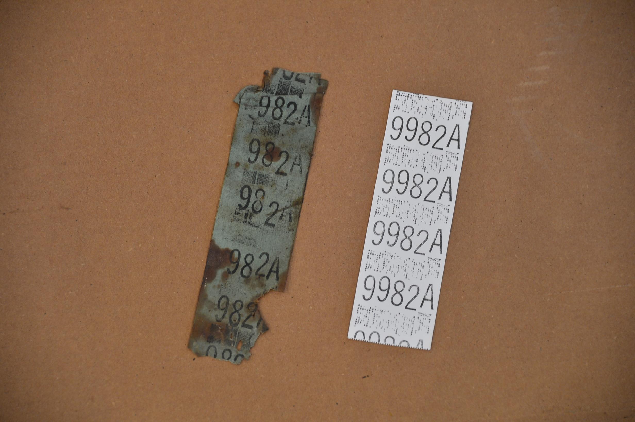 Paper Axle Tag