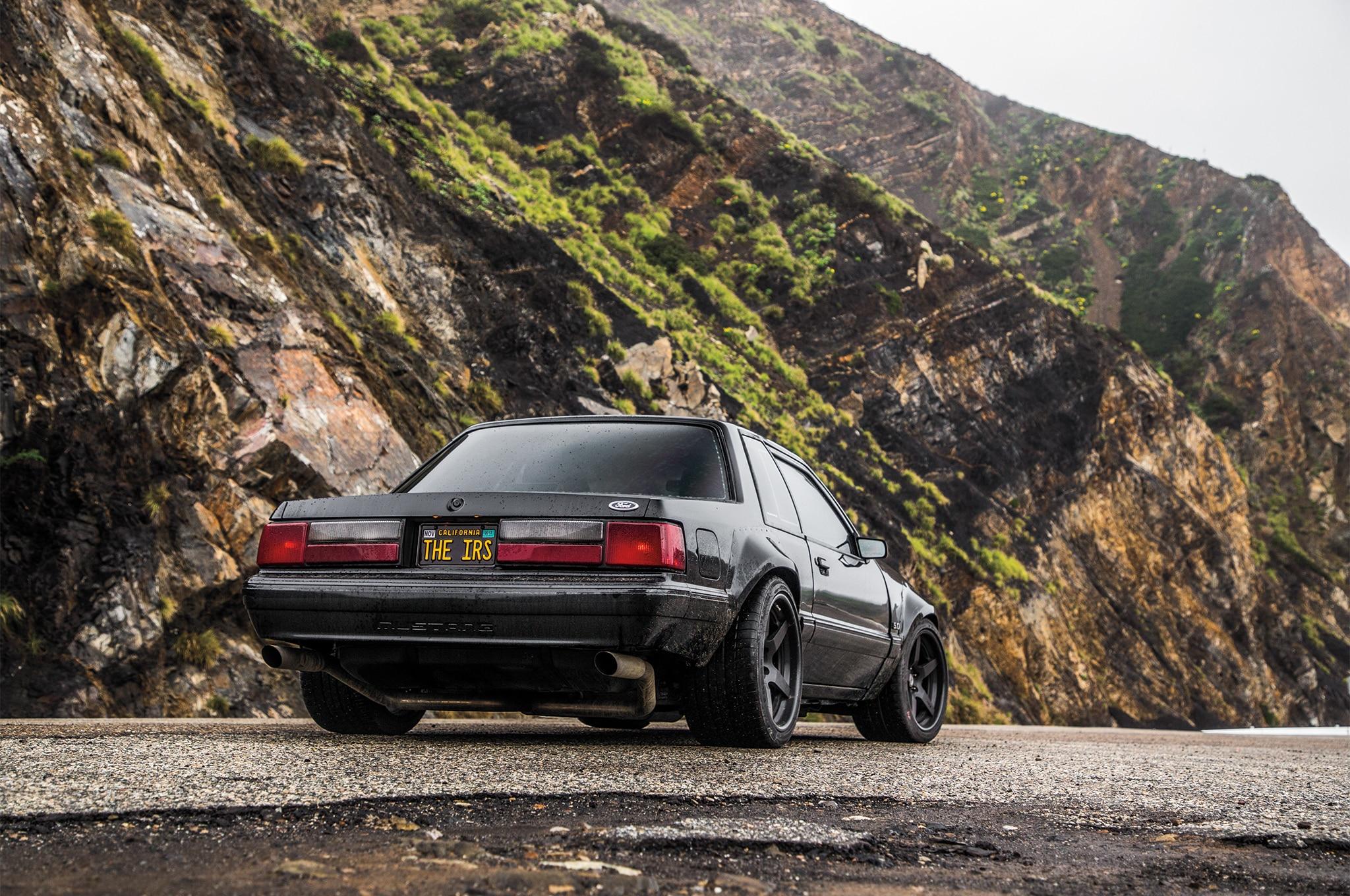 1988 Ford Mustang LX 5 0 SSP Rear Three Quarter