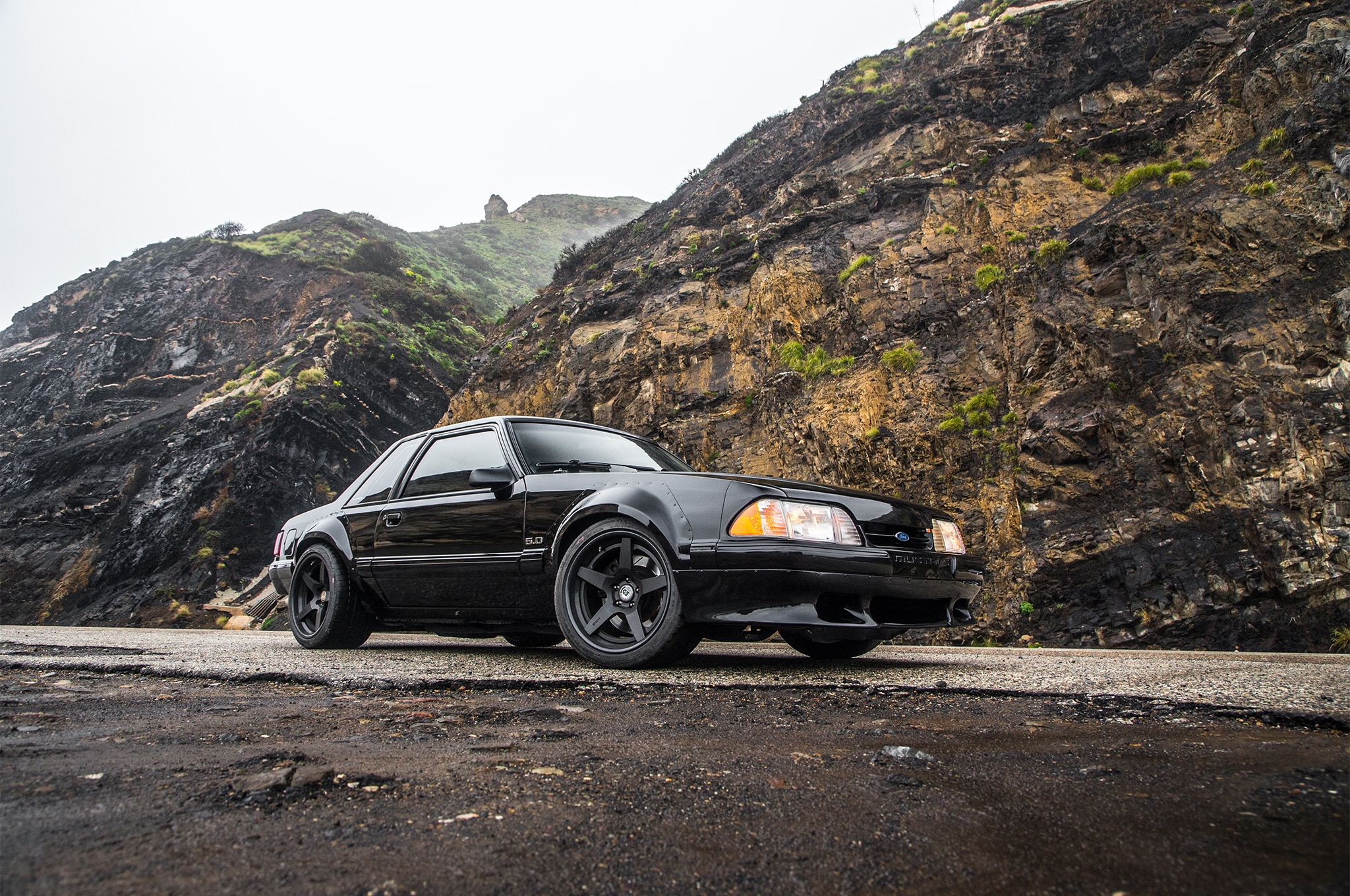 1988 Ford Mustang LX 5 0 SSP Front Three Quarter 02