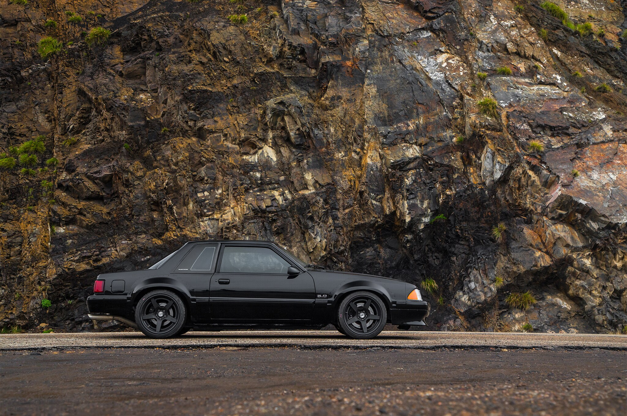 1988 Ford Mustang LX 5 0 SSP Side Profile