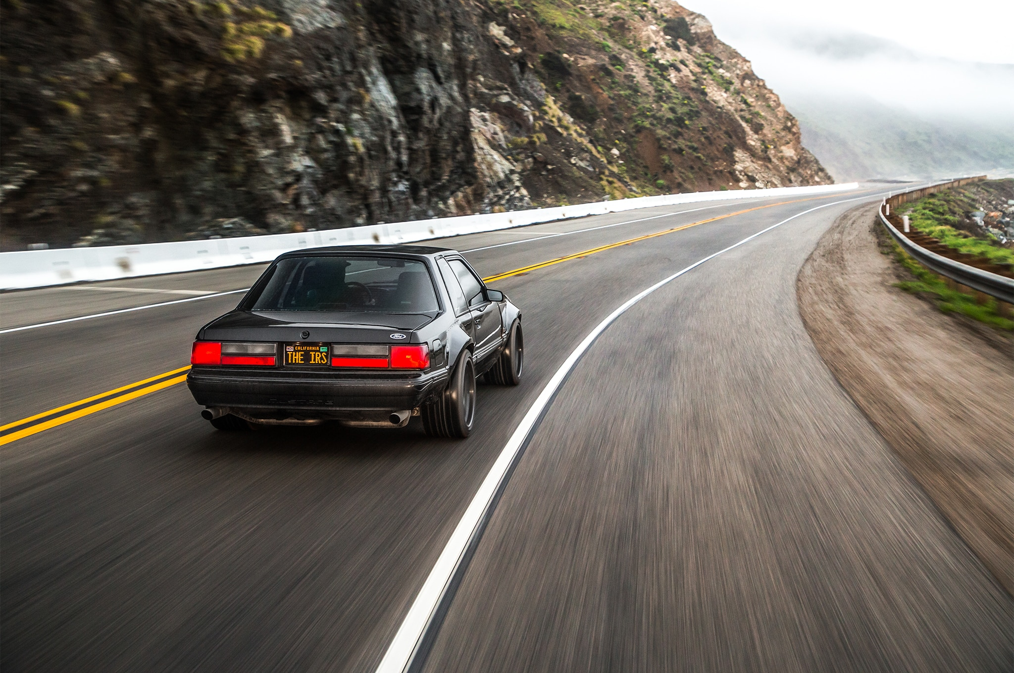 1988 Ford Mustang LX 5 0 SSP Rear Three Quarter In Motion 04