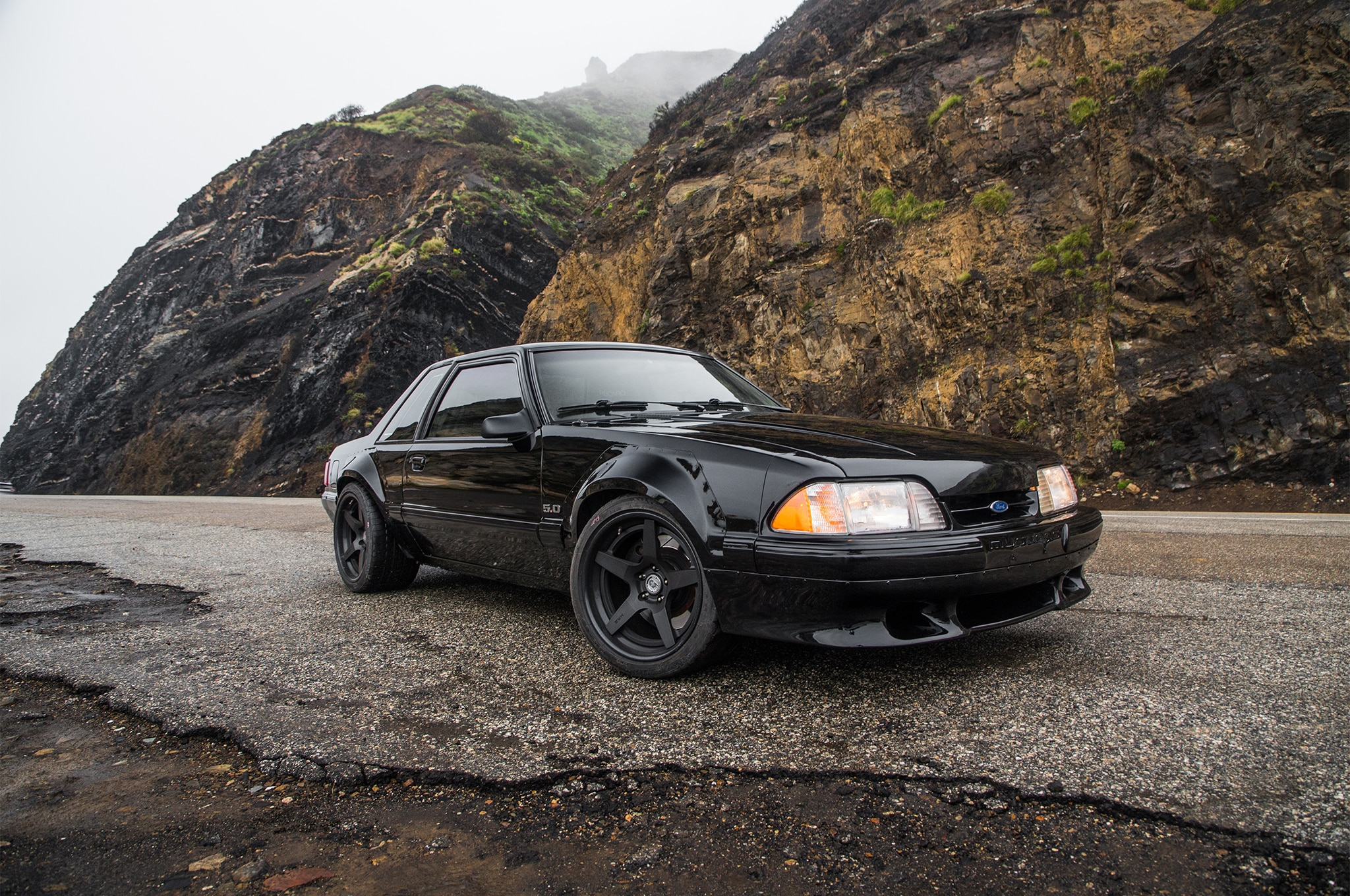 1988 Ford Mustang LX 5 0 SSP Front Three Quarter 03