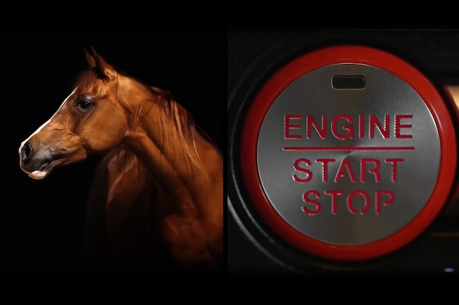 2018 Ford Mustang Push Button Start 001
