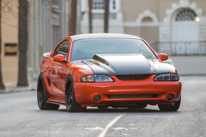 Cobra Orange Slick Hugger Is Snake One 1998