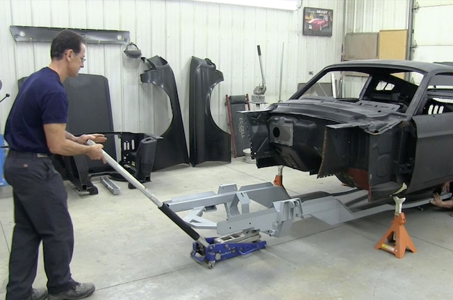 1967 Ford Mustang Subframe