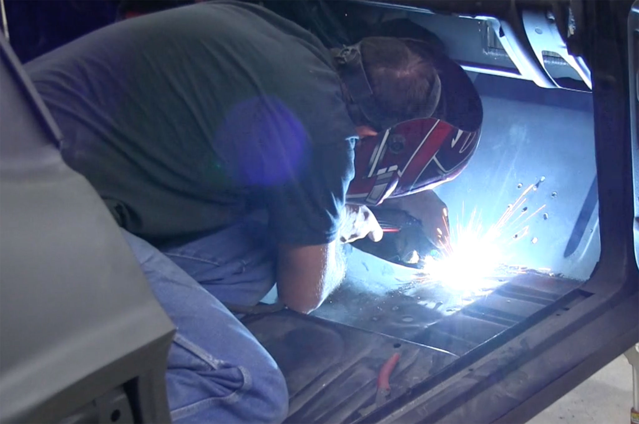 1967 Ford Mustang Welding
