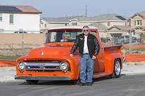101A Ford 1956 F 100 Owner Chris Travers