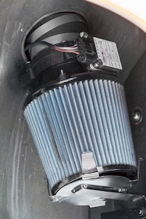 04A Pro M Maf And Air Cleaner Mounted Inside Wheelwell