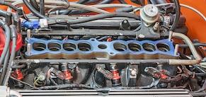 08 NOS Ford 30 Lb Fuel Injectors EV1 Red Top