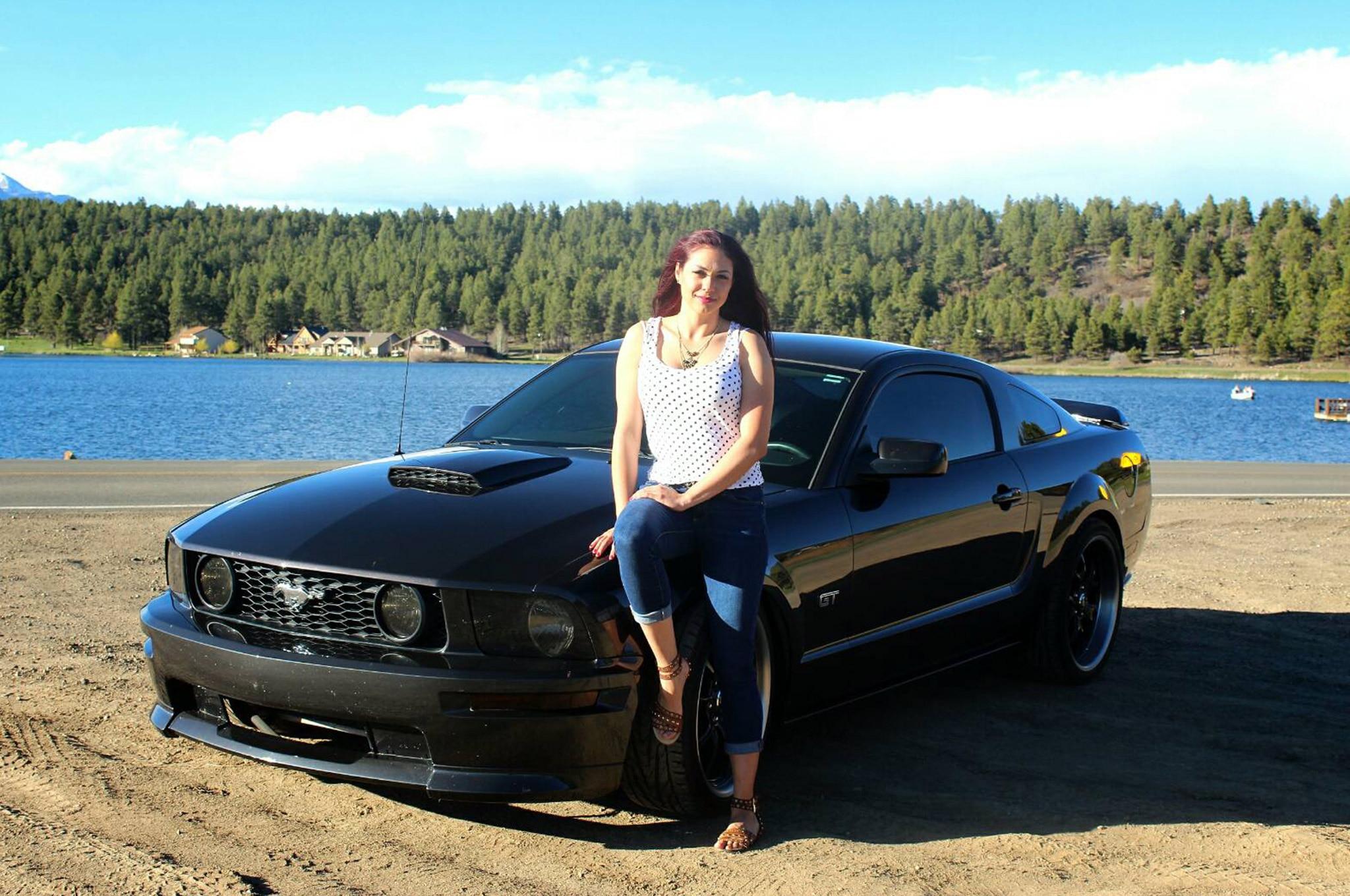 Mustang Girl Monday Bianca Hinojos Front Quarter