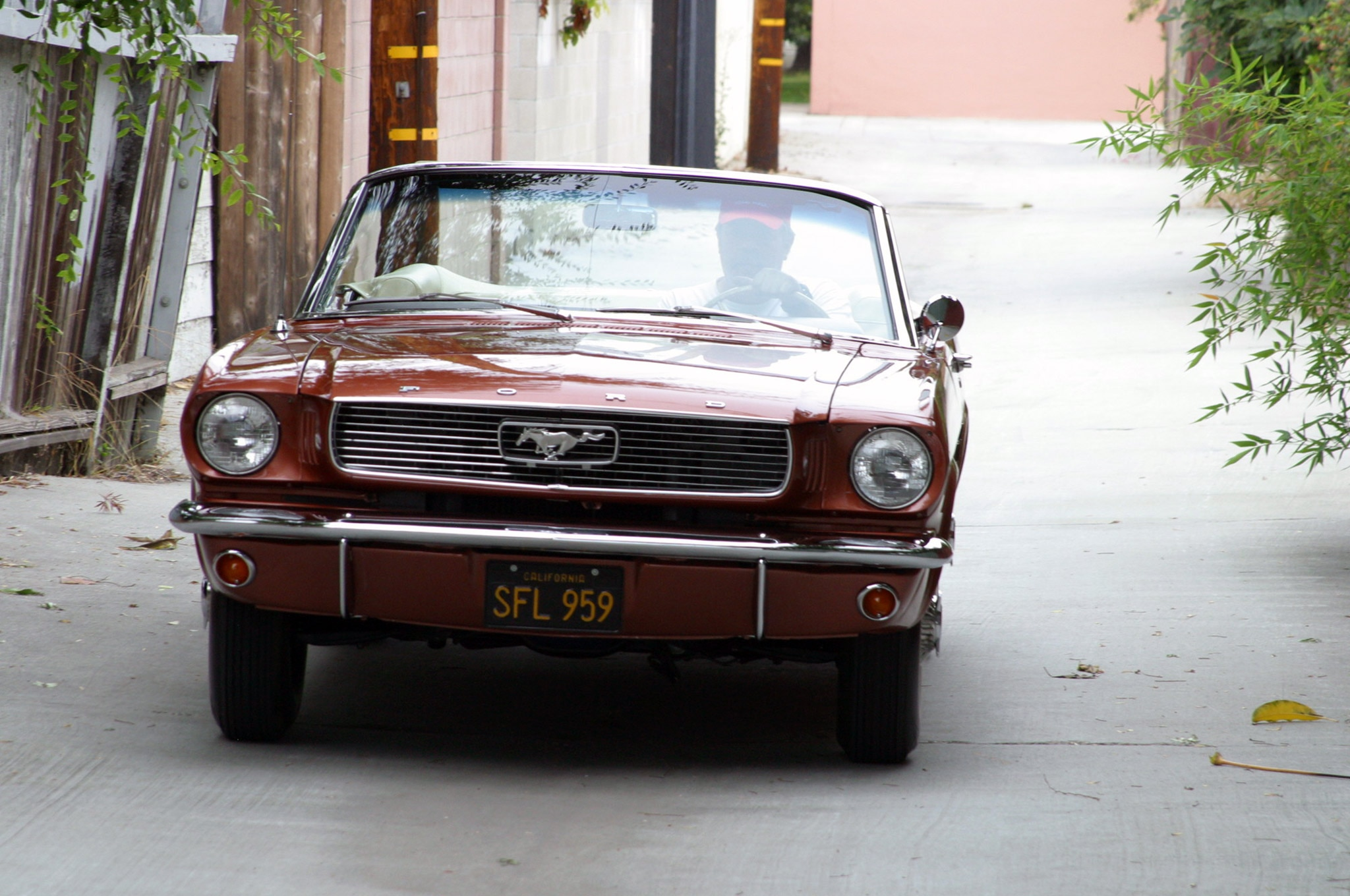 1966 Ford Mustang Six Cylinder Belair Grille