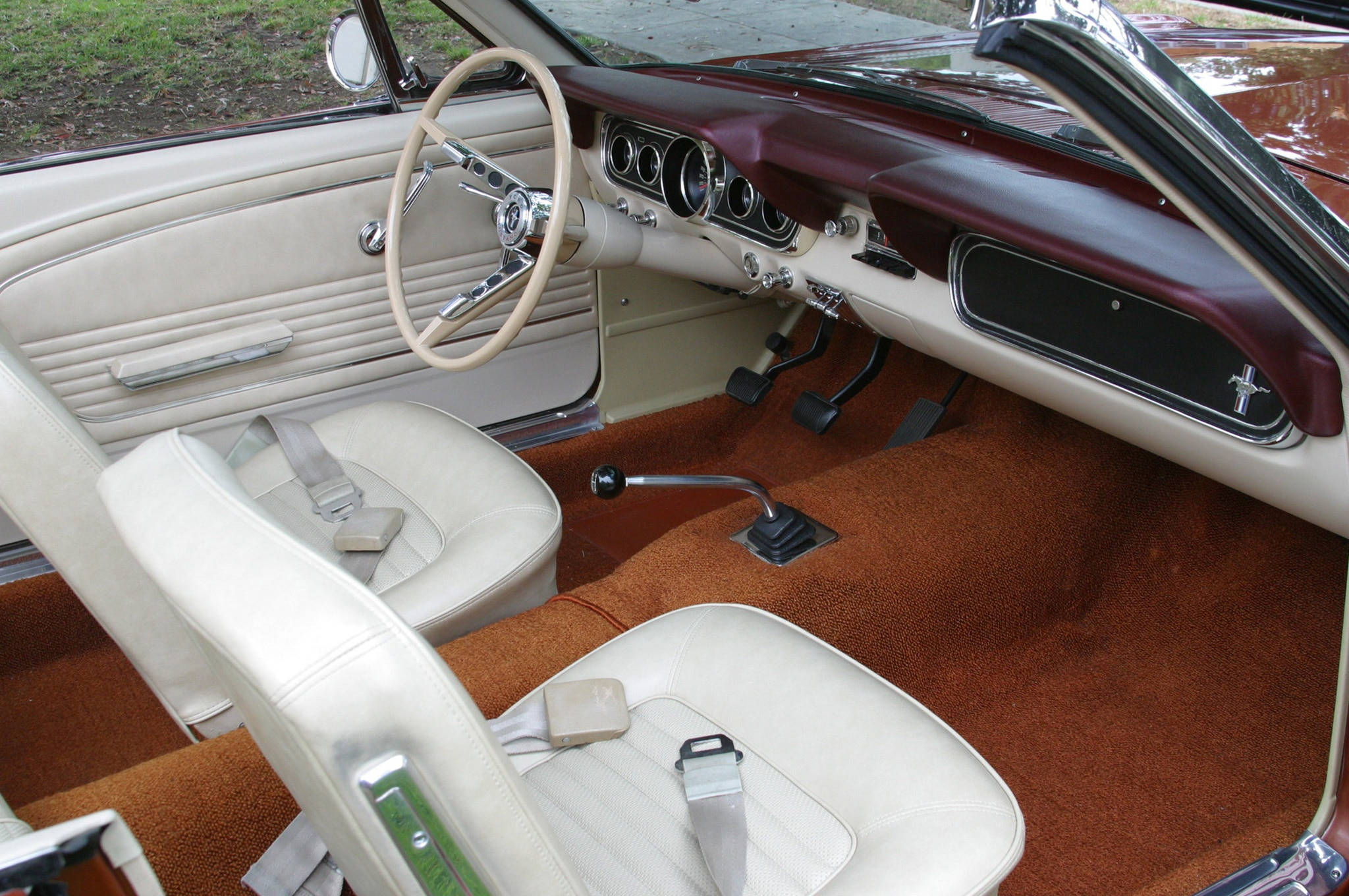 1966 Ford Mustang Six Cylinder Belair Interior