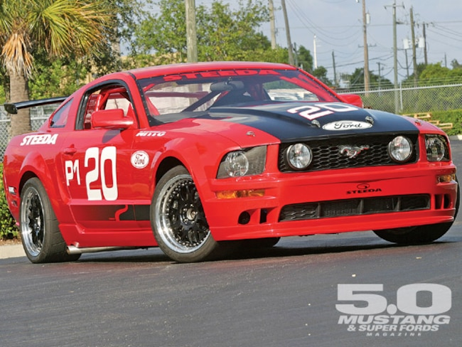 M5lp 0903 01 Z Steeda Project Ford Mustang Front Bumper Shot