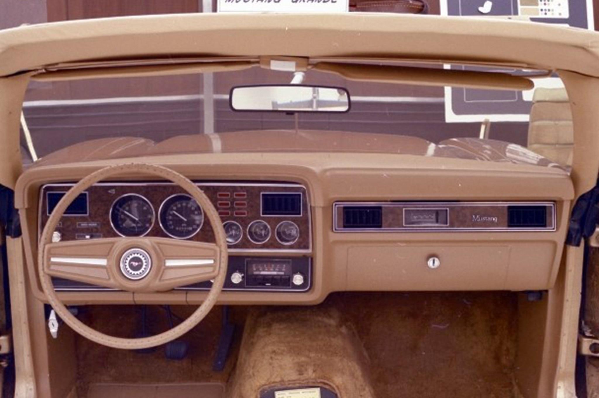 Ford Mustang Steering Wheel Evolution 1974
