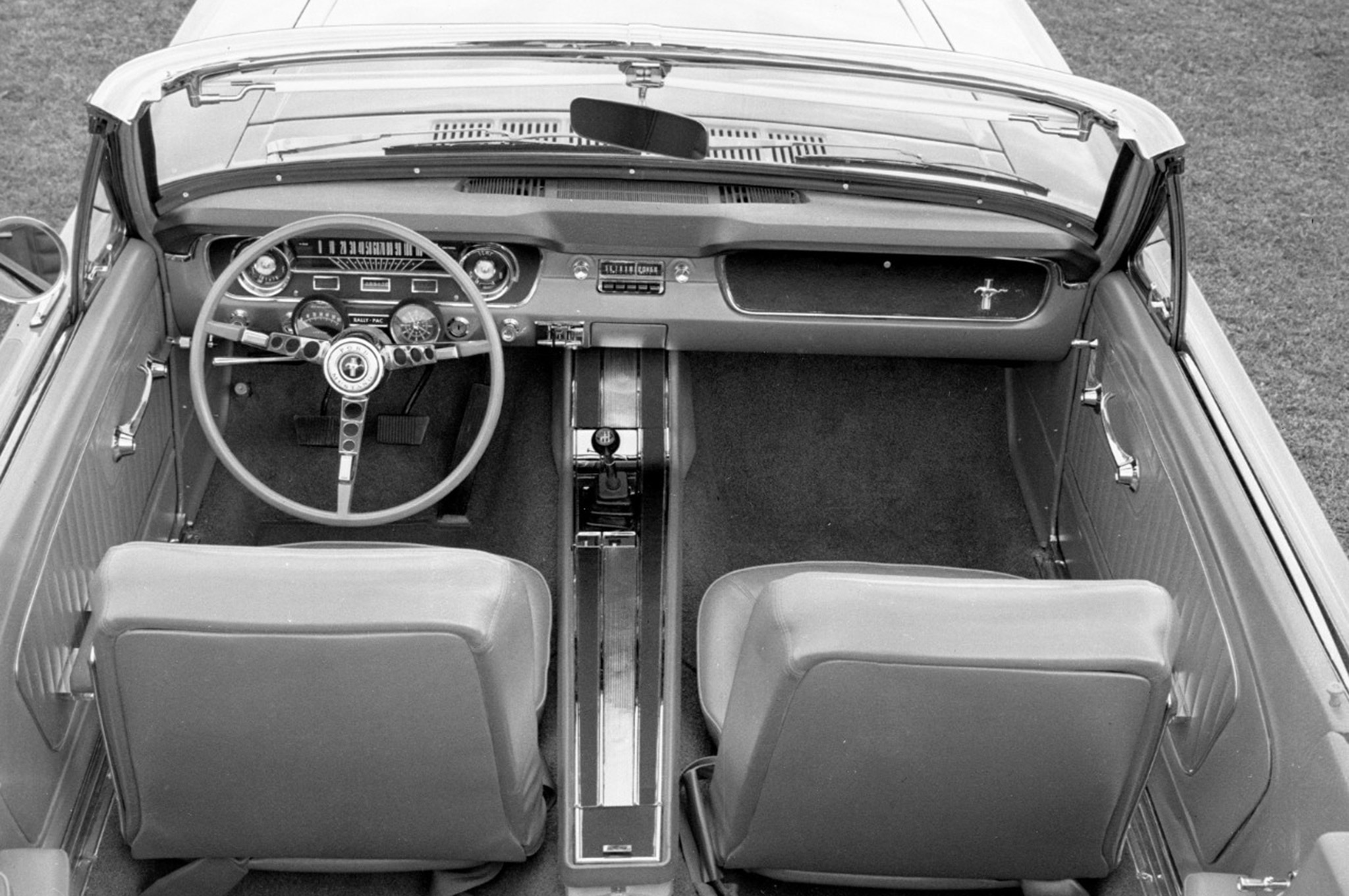 Ford Mustang Steering Wheel Evolution 1964 First Gen