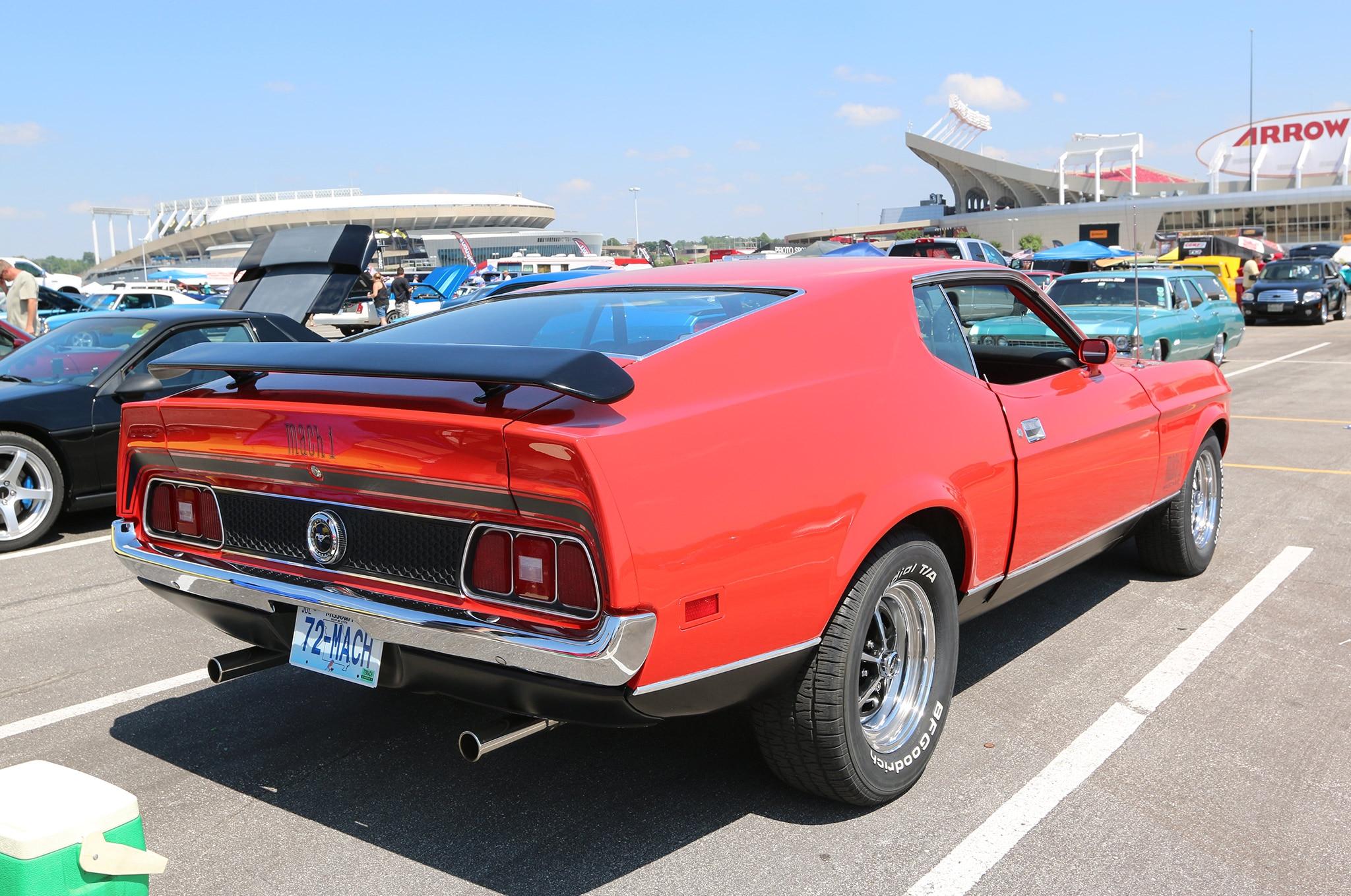 1972 Ford Mustang Mach 1 Joyce Meyers 002