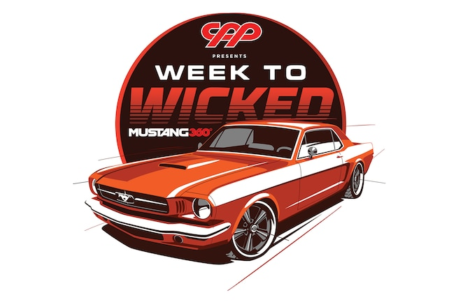 Week To Wicked 1966 Ford Mustang Logo