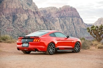 03 Shelby GT EcoBoost Mustang Rear Three Quarter