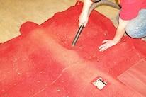 How To Dye Vintage Mustang Carpet 002