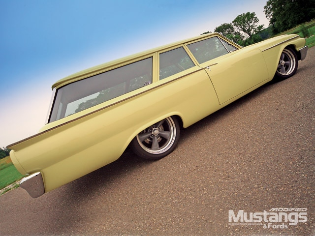 1961 Ford Ranch Wagon Front View