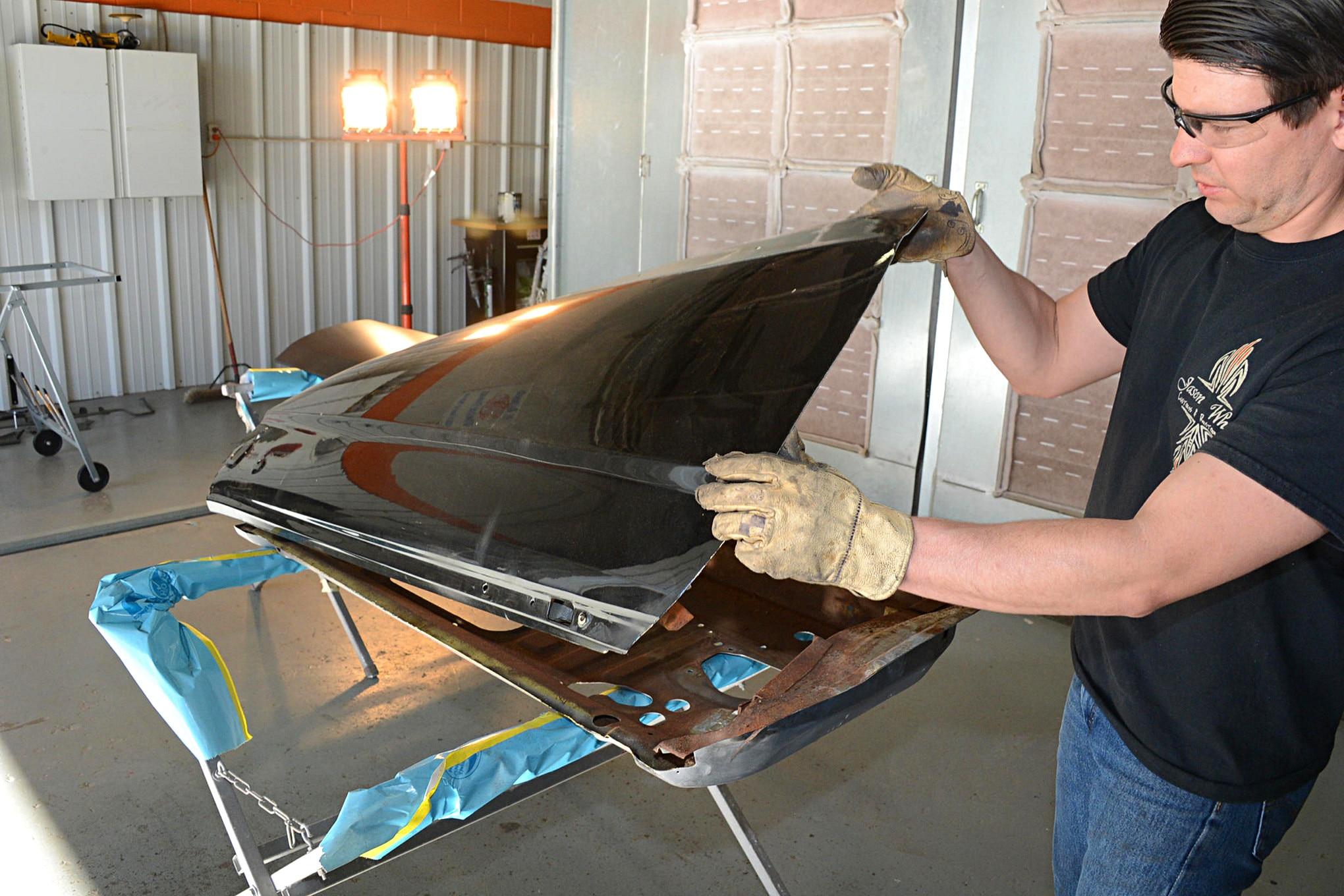 Door Skin Install Mustang 007