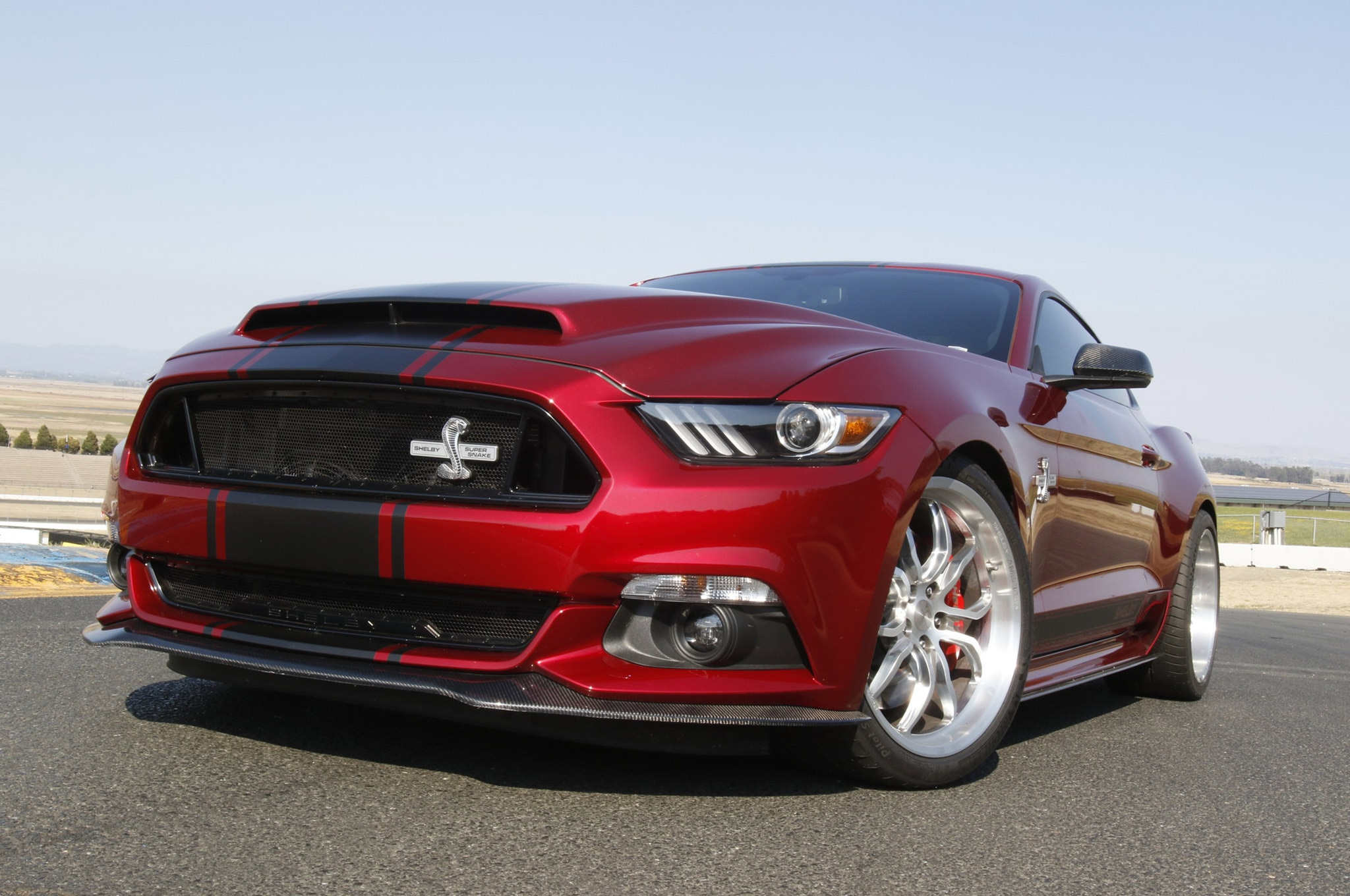 2015 Ford Mustang Shelby Super Snake Track Test 08