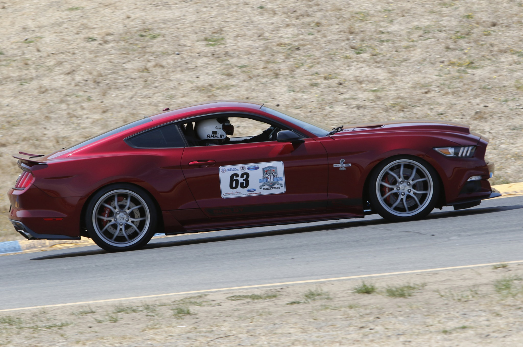 2015 Ford Mustang Shelby Super Snake Track Test 01