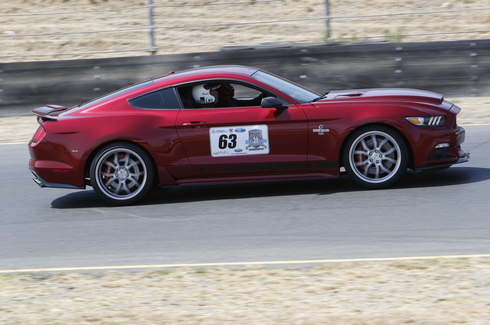 2015 Ford Mustang Shelby Super Snake Track Test 03